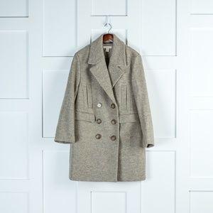 H&M Warm Grey Pea Coat